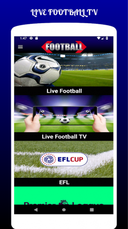LIVE FOOTBALL TV STREAMING HD 1 2 Laden Sie APK für Android
