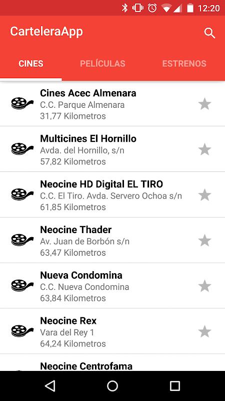 CarteleraApp Cine screenshot 2