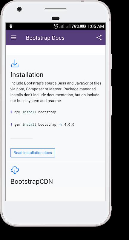 Bootstrap Docs screenshot 2