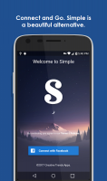 Simple Pro for Facebook & more Screen