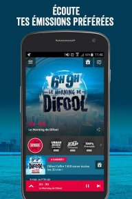 Skyrock Radio screenshot 1
