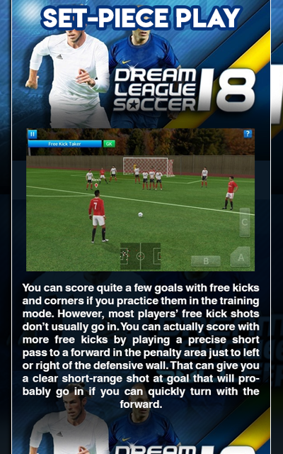 Guide Dream League Soccer 2019/2018 screenshot 1