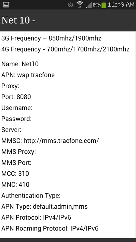 APN Settings for ALL (BEST) 1 0 Download APK para Android