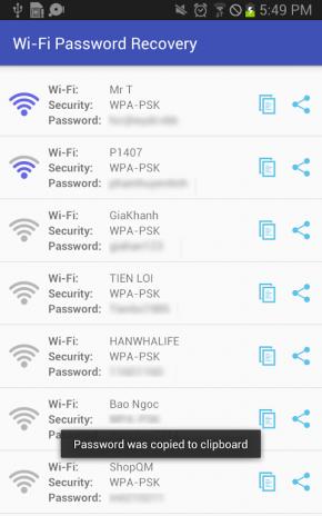 تحميل APK لأندرويد - آبتويد Easy WiFi Password Recovery2 0