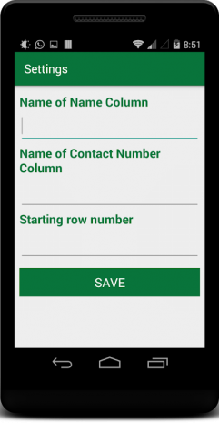 Import Export Excel Contacts 1 5 Download APK for Android