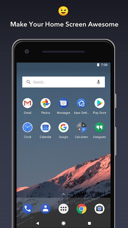 Apex Launcher screenshot 2