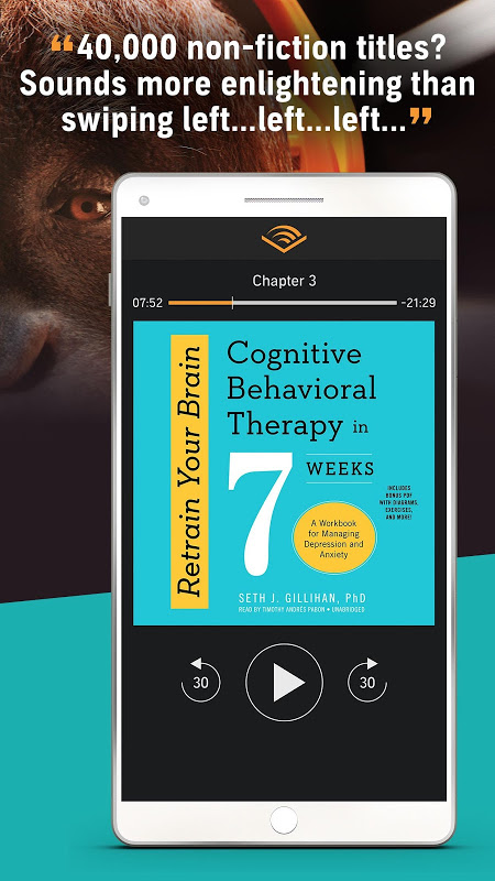 Audiobooks from Audible screenshot 5