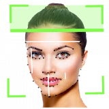 Face reader scanner– physiognomy analysis Icon