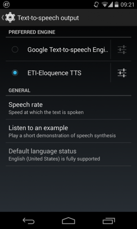 Eloquence Text To Speech 1 2 9 Download APK for Android