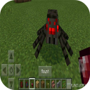 Mountable Spider Mod for MCPE