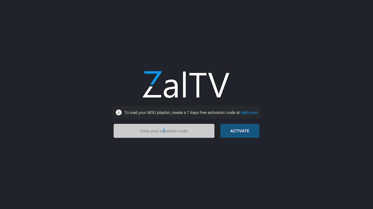 ZalTV IPTV Player screenshot 1