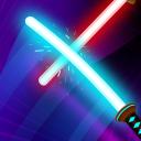 Supreme Saberman: Stickman Fight Space Invaders