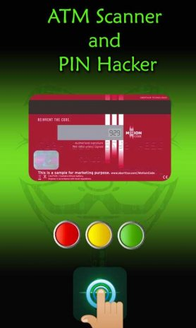 ATM Card Scanner and Pin Number Hacker Prank 1 0 Download