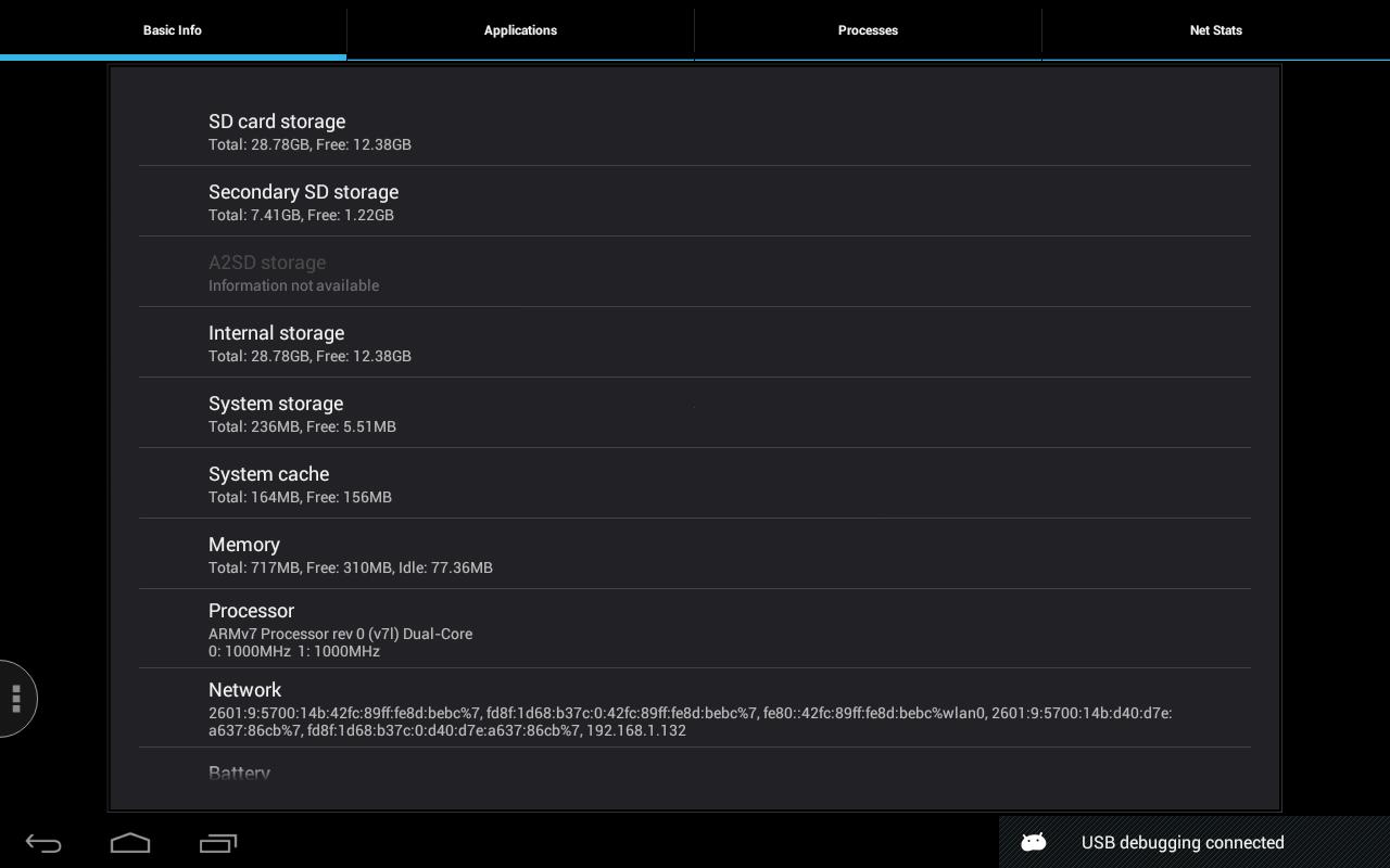 Quick System Info PRO screenshot 1