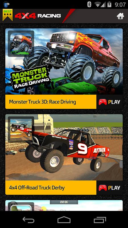 4X4 Racing Games screenshot 1