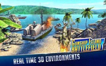 GUNSHIP ISLAND BATTLEFIELD v 1.0 1