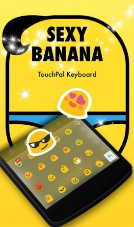 TouchPal Sexy Banana Theme 6 20160928151146 Download APK for
