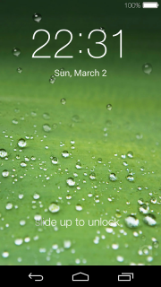 Lock screen(live wallpaper) screenshot 2