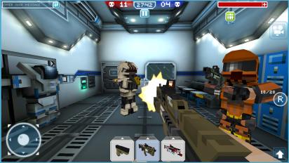 blocky cars online shooter fps screenshot 1