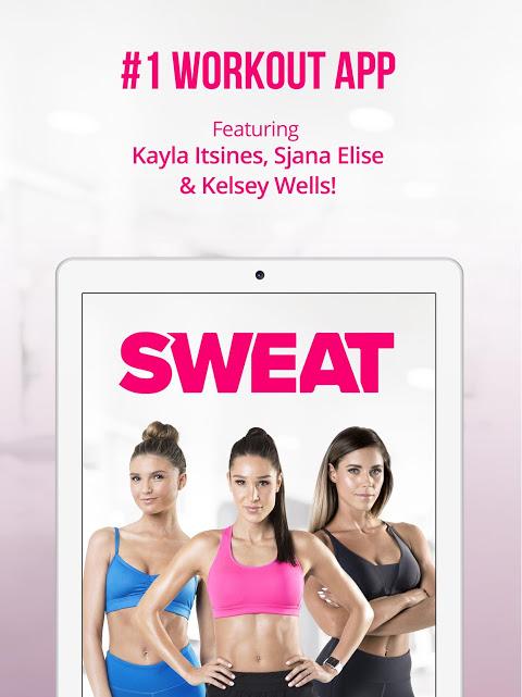 Sweat: Kayla Itsines Fitness screenshot 1