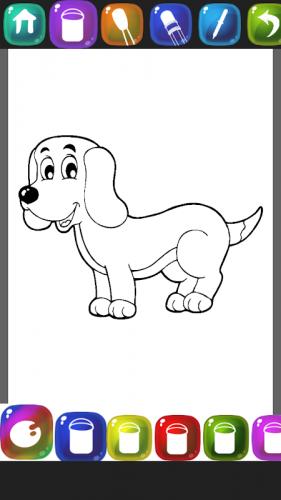 Anjing Buku Mewarnai 1 4 Download Apk Android Aptoide