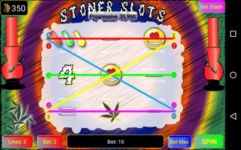 Stoner Slots Progressive Marijuana Screenshot