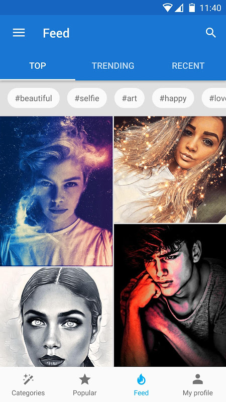 Photo Lab Picture Editor FX: filters & art montage screenshot 1
