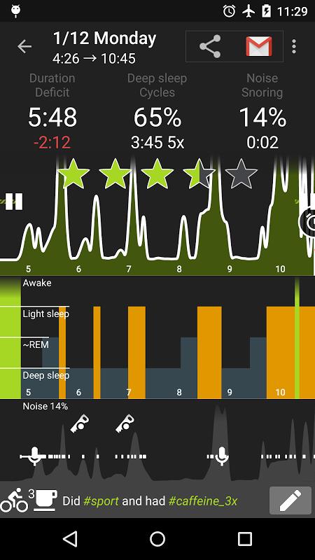 Sleep as Android screenshot 28