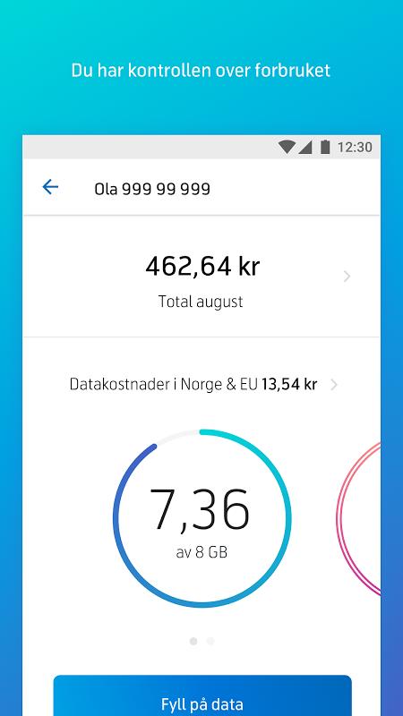 Mitt Telenor screenshot 2