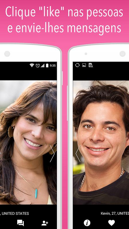 Waplog Rede Social: Chat, Encontro e Namoro screenshot 2