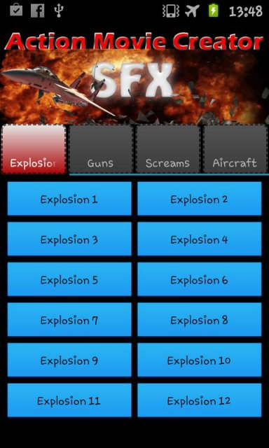 action movie creator fx sound download apk for android