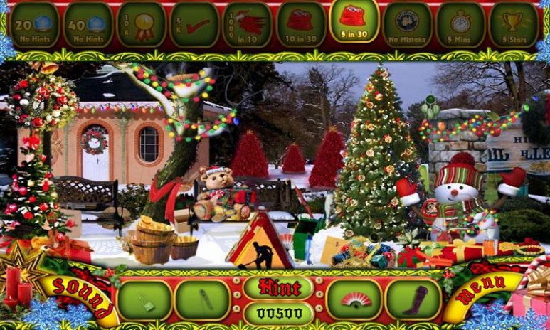 241 New Free Hidden Object Games Merry Christmas 72 0 0