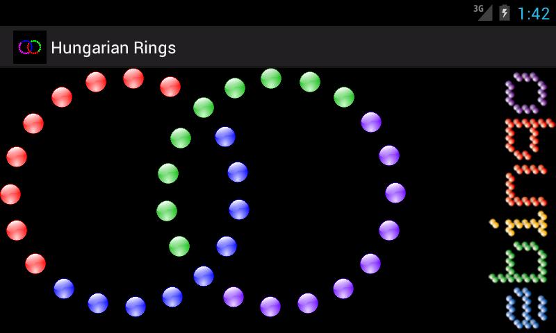 Hungarian Rings screenshot 1