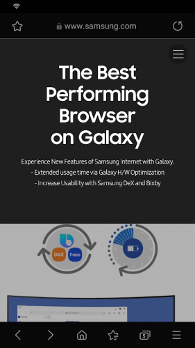 Samsung Internet Browser screenshot 5