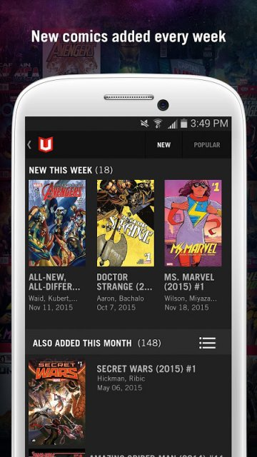 Marvel unlimited download apk for android aptoide