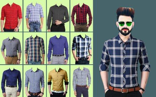 Man Formal Shirt Photo Suit Maker screenshot 6