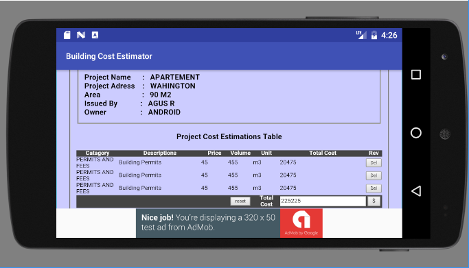 Building cost estimator download apk for android aptoide for Building cost calculator free