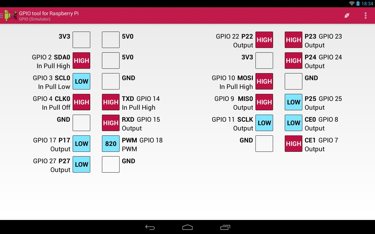 GPIO Tool For Raspberry Pi 2 127 7127 Download APK para
