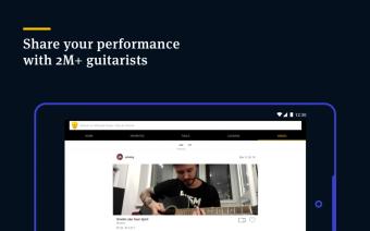 Ultimate Guitar Tabs & Chords Screenshot