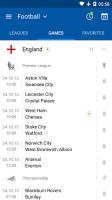 SofaScore - Live Scores, Fixtures & Standings Screen