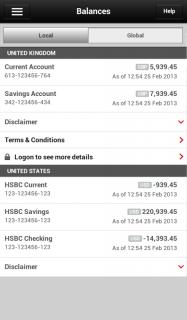 HSBC Mobile Banking screenshot 3