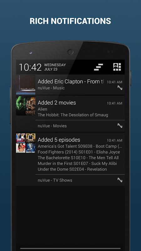 nuVue for Plex & Media Browser screenshot 1