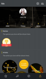GO Music Player PLUS screenshot 1