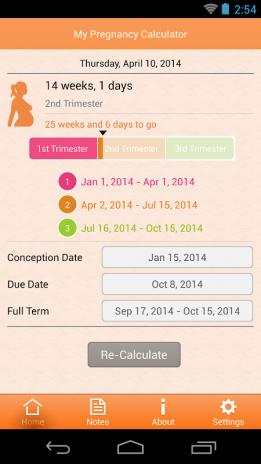 04506a420 Mi Calculadora de Embarazo 1.2.4 Descargar APK para Android - Aptoide