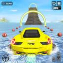 Water Surfing Car Stunts