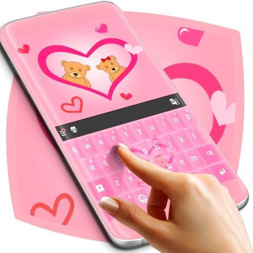 Pink Love Keyboard Free