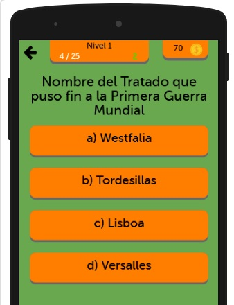 Trivial de Historia screenshot 2