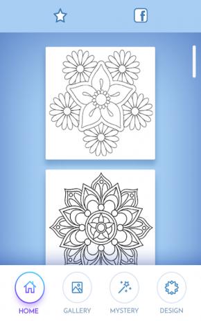 Flower Mandala Coloring Book Screenshot 9