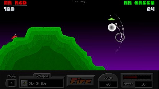 Pocket Tanks screenshot 14
