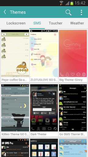 Kitty Play EX (Theme/wp&more;) Screenshot